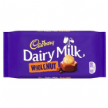 Cadbury Wholenut Chocolate Bar 200g